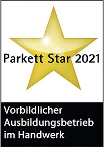 Wir haben den Parkett Star 2021 erhalten. Vielen Dank!